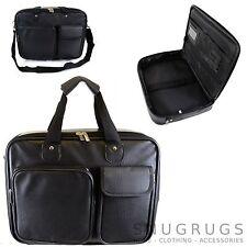 Unisex Lederoptik Business/Works/Reise Aktentasche/Schulter/Laptop Tasche