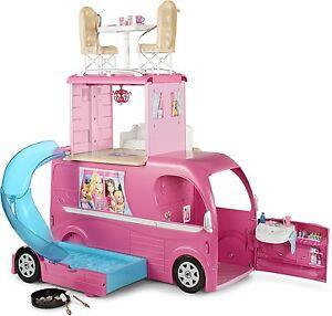 Barbie Pop-Up Camper Vehicle Barbie