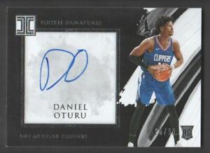 2020-21 Basketball  Impeccable Impeccable Rookie Auto #OTU Daniel Oturu 26/99