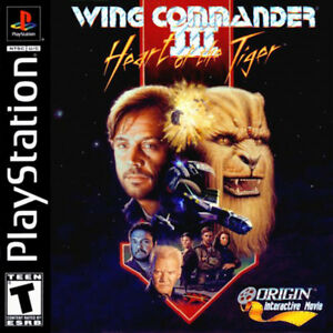 Wing Commander 3 Heart Of The Tiger Ps1 Fast Shipping 17814101106