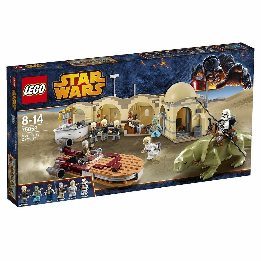 LEGO 75052 MOS EISLEY CANTINA STAR WARS GUERRE STELLARI    NUOVO NEW 736373