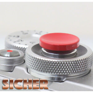 SICHER-Soft-Release-Shutter-Button-for-Cameras-Quality-Brass-RED-Concave