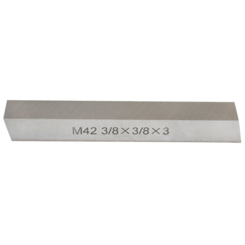 Set Of 5 Pieces M42 HSS Square Tool Bits Size 3//8 Inch x 3//8 Inch x 3 Inch