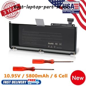 A1331-Battery-for-Apple-MacBook-Unibody-13-034-A1342-2009-Mid2010-Version-Fast-Ship