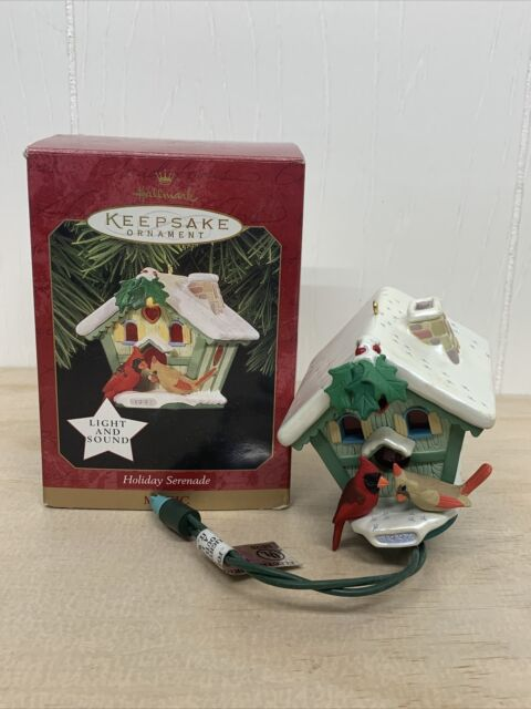 1997 Hallmark Keepsake Tree Holiday Christmas Ornament Baltimore Ravens Blimp NF