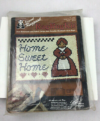 Rugpoint Rag Rug Kit 3004 Home Sweet