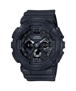 Casio-Baby-G-BA130-1A-Anadigi-Black-Resin-Watch-for-Women