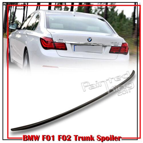 Stock in LA!740Li Unpaint ABS BMW F01 F02 7-Series 4D M3 Style Trunk Lip Spoiler