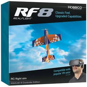 Details about Realflight 8 RC Quadcopter Flight Simulator w/ Interlink X MD  2 MD2 GPMZ4550