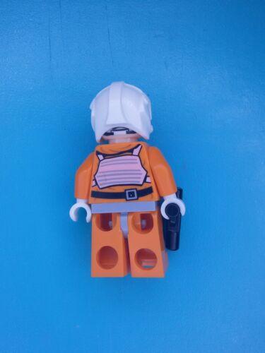 Lego Star Wars Minifigure Dak Ralter Rebel Pilot Leg Pockets 75049!