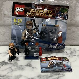 Lego Marvel Super Heroes Hawkeye With Equipment 30165 Brand New Free Post