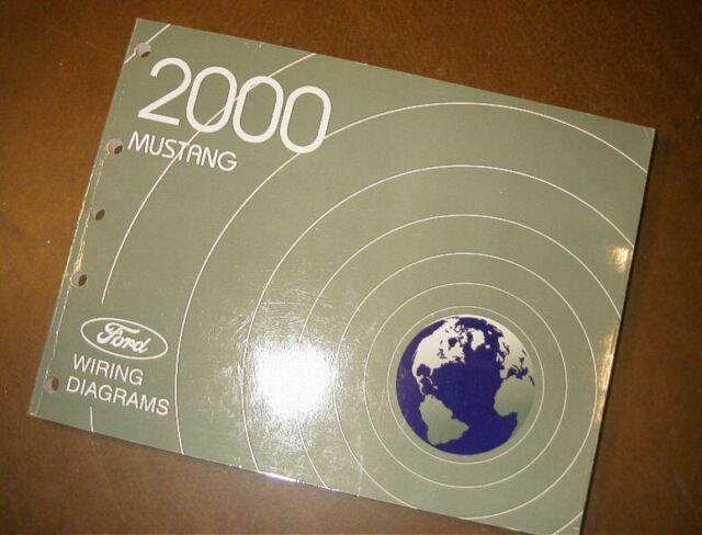 2000 Ford Mustang Wiring Diagrams Manual