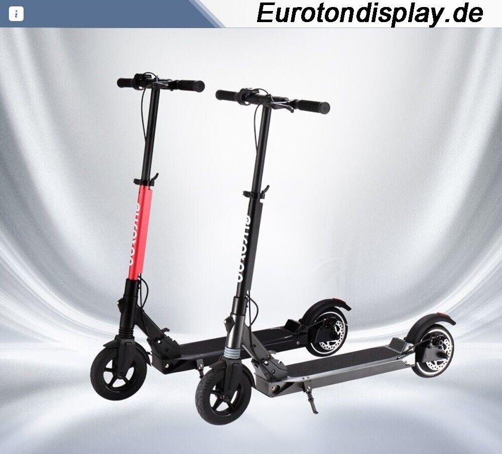 Roller Scooter Klappbar Scheibenbremse 250W 30km Batterie7,8AH E-Scooter Elektro