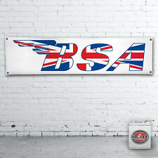 BSA Motorcycles  Banner  –  heavy duty for workshop, garage, mancave retro