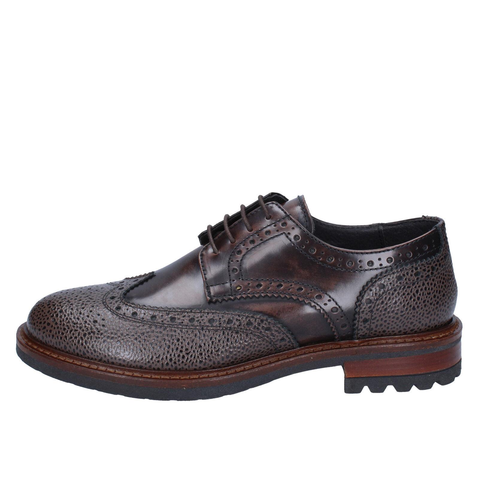 scarpe uomo J. marrone BREITLIN 43 elegante marrone J. pelle BX162-43 e6858b