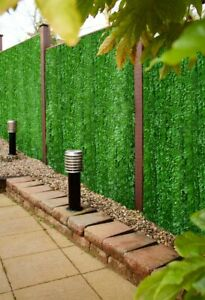 Best Artificial Conifer Leaf Screening Hedge Wall Garden Fence Landscaping Roll