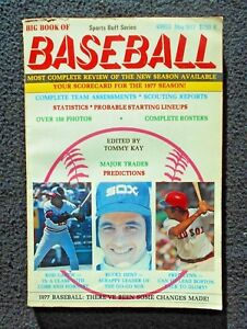 May-1977-Tommy-Kay-039-s-Big-Book-of-Baseball-Carew-Dent-Lynn-On-Cover