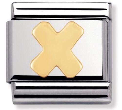 Nomination Charm Letter X RRP £18