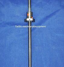 1 anti backlash ballscrew RM1605-1200mm-C7 ball screws for CNC