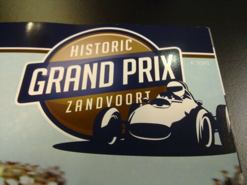 Programmaboekje Historic Grand Prix Zandvoort 2012 Official Program Lim. Edit.