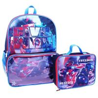Captain America Civil War Full-size Backpack &stow-away Insulated Lunch Tote Box