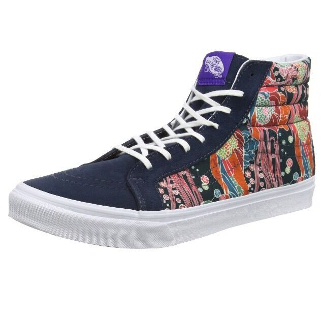 Vans Sk8-hi Slim, Unisex Adults' Hi-Top Turnschuhe, Multicolour  4 UK 36.5 EU