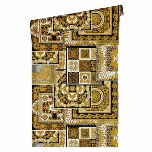Versace IV DECOUPIS Papier Peint Noir//Or 37048-3 Ornate Baroque styles