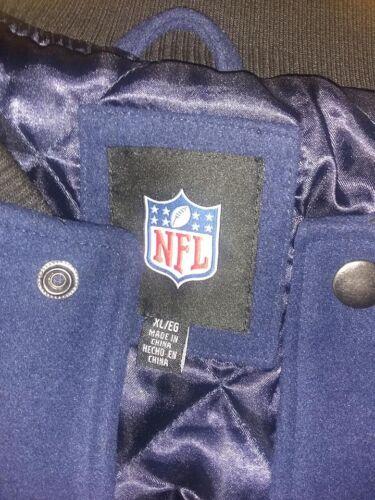 uld Denver Poly Broncos Strikket Jakke Foring Jersey Varsity Med Quiltet TTrESqBW
