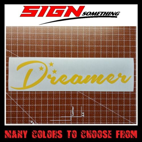 Sticker Dreamer Decal