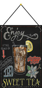 Iced-Sweet-Tea-Southern-Style-Sign-with-Cord-Tin-7-7-8x11-13-16in-FA0326-K