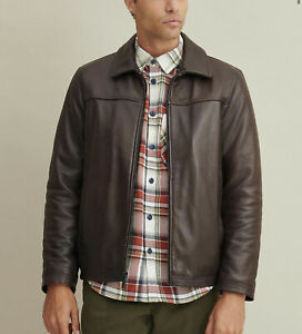 CALVIN KLEIN Thinsulate™ Lined 100% Real Leather Jacket ...