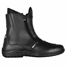 Oxford Warrior Motorcycle Motorbike Waterproof  Mens Black Boots