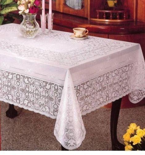 VINILE Lace tablecloth RETTANGOLARE - 100% in Rilievo in Vinile - 60  x 90