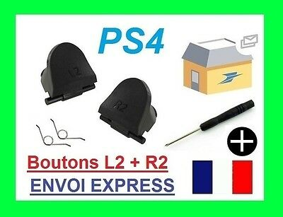 Kit réparation bouton manette PS4 playstation 4 dualshock 4 L2 R2 bouton