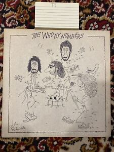 The Who - The Who By Numbers Vinyl LP - 1975 First Press - MCA Records MCA-2161