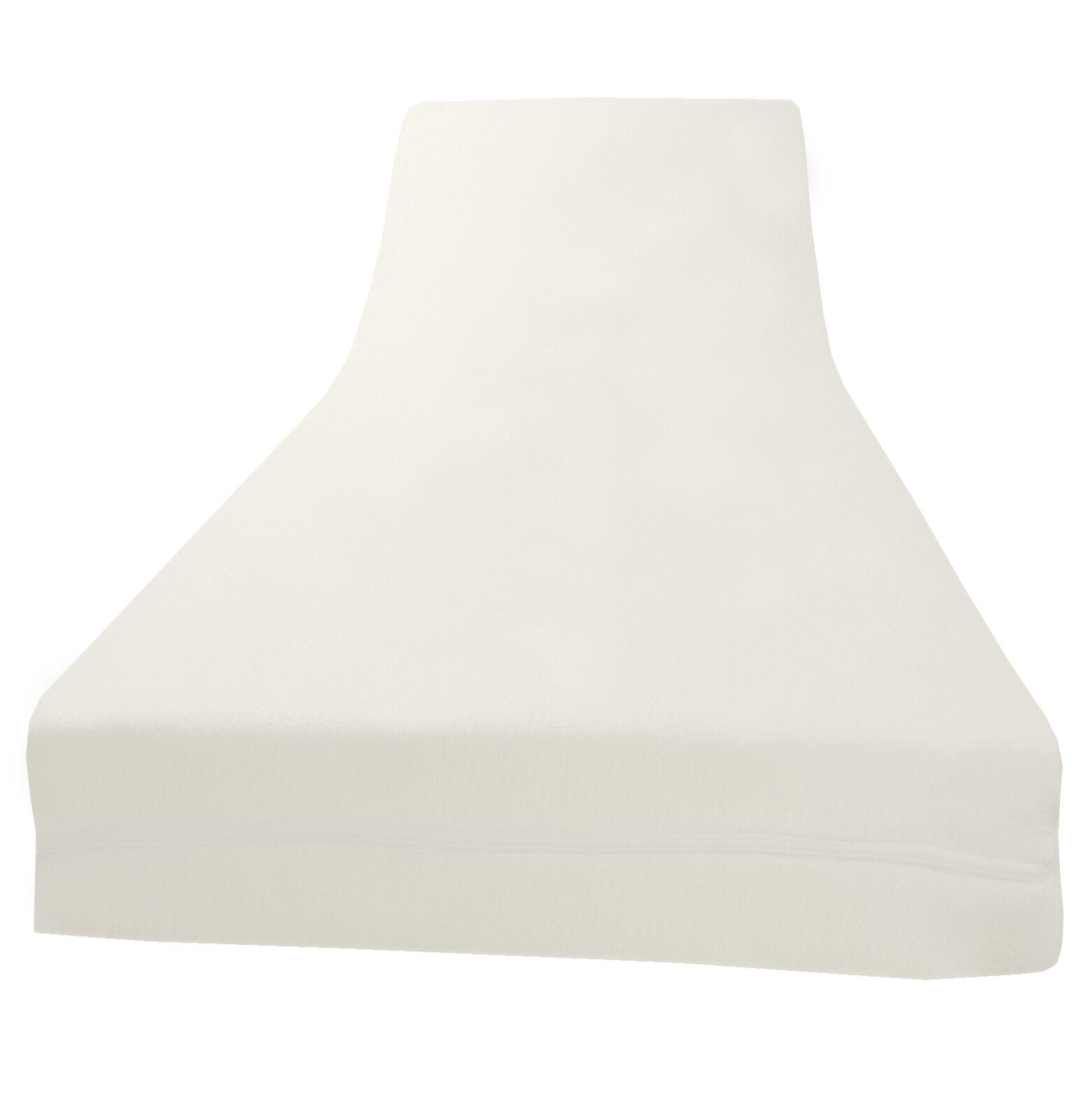 Viscoelastische Matratzenauflage Visco auflage + Bezug 5 cm