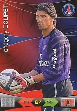GREGORY COUPET PARIS.SG PSG CARTE CARD ADRENALYN LIGUE 1 2011 PANINI - D