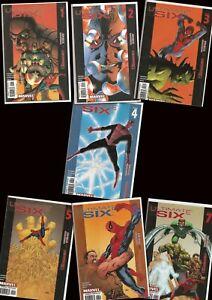 ° Ultimate Six 1 - 7 ° y luego eran seis... serie completa us Marvel