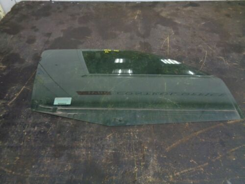 Renault Clio MK2 3dr Drivers side door glass O//S//F
