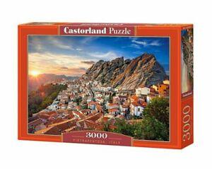 NEW CASTORLAND Puzzle 3000 Tiles Pieces Jigsaw Pietrapertosa Italy
