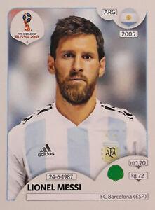 Lionel Messi - Fifa World Cup Russia 2018 Sticker Panini  276 - I ... f924e4afc2a2