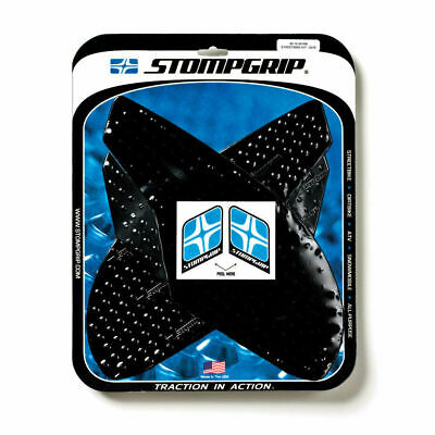 Black STOMP GRIP Traction Pad Tank Kit TRIUMPH Daytona 675//675R//ABS 2013-2016
