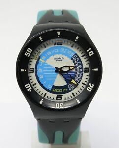 Orologio-swatch-diver-fun-scuba-200-metri-diving-clock-profondimetro-horloge