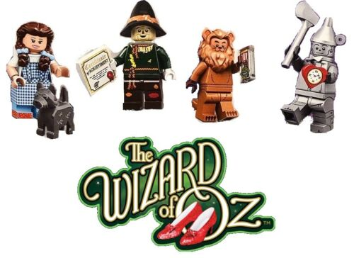 LEGO MOVIE 2 WIZARD OF OZ MINIFIGURES SET DOROTHY TIN MAN LION SCARECROW 71023
