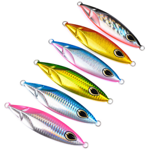 6x Metal Fishing Lures  Jigs 180g Kingfish Snapper Knife Jigs Butterfly Slow Lure  incentive promotionals