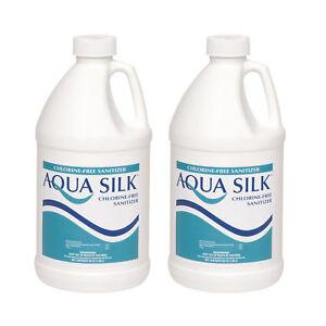 Aqua Silk 1 2 Gallon Chlorine Free Alternative Swimming