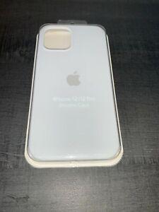 Apple Coque en Silicone pour iPhone 12/12 Pro - Blanc