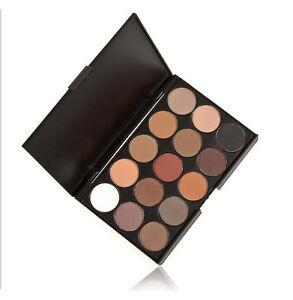 15-COLOURS-EYESHADOW-PALETTE-Smokey-Eye-Neutral-Nude-White-Brown-Black-Chocolate