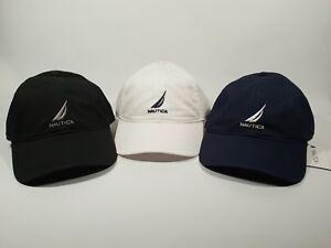 New-Authentic-Nautica-Cotton-J-Class-Adjustable-Hat-Cap-3-Colours-CLEARANCE