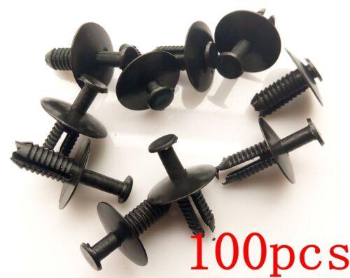 100 Bumper Trim Clip Door Sill Rivet Retainer Series 3,5,7 For E46 E38 E39 E53